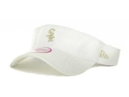 Chicago White Sox MLB Baseball Ladies White Adjustable Hat Cap New - $17.12