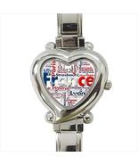 France Heart Italian Watch - $19.95