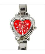 Tree Of Life Heart Italian Watch - $19.95
