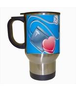 Nurses Rock Stainless Steel Coffee Travel Mug - $17.95