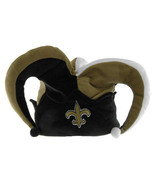 NEW ORLEANS SAINTS Football Fleece Jester Hat Cap Mens Fits All Fun New ... - $25.77