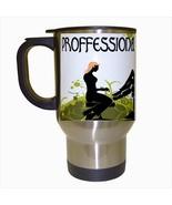 Professional Stylist Stainless Steel Coffee Travel Mug - $17.95