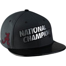 Alabama Crimson Tide 2012 Snap back BCS Champs Mens Nike Locker Room Hat Cap - £20.88 GBP