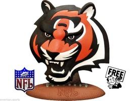 BENGALS Football Figure NFL Logo Figurine resin Desk,Bar,ManCave,TV COOL... - $31.47