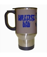 Greayest Dad Stainless Steel Coffee Travel Mug - $17.95