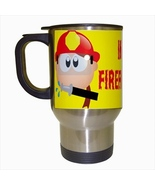 Im A Firefighter Stainless Steel Coffee Travel Mug - $17.95