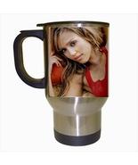 Jessica Alba Stainless Steel Coffee Travel Mug - $17.95