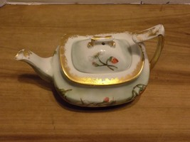 T & V limoges strawberry tea pot-MINT!! - $116.67