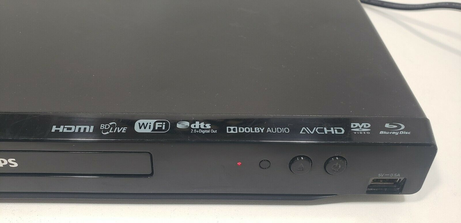 Philips Blu-Ray Disc Player BDP2501 with  Remote.. Tested image 2
