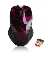 3222 2.4G Wireless Optical Mouse Red - $19.99