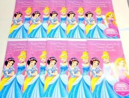 10 Disney Princess Party Favors Girls Royal Sticker Books 40 sheets 710 ... - $7.95