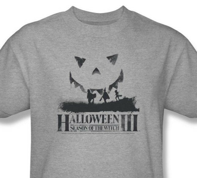 Halloween 3 T-shirt Free Shipping Season Witch retro 1980's slasher movie UNI493