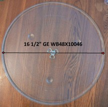 "16 1/2"" GE WB48X10046 Microwave Glass Turntable Plate Replacement Good C... - $44.54"