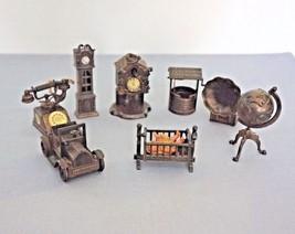 Vintage Metal Pencil Sharpeners Miniatures Hong Kong Lot of 8 - $36.00