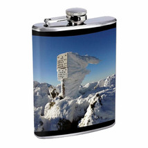 Mount Adams D1 Flask 8oz Stainless Steel Hip Drinking Whiskey - $279,96 MXN
