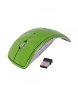 V2010 2.4G Folding Wireless Optical Mouse Green - $25.99