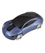 7300 Car Shaped 2.4G Wireless Optical Mouse Blue - $25.99