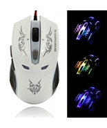 JITE J-07 USB Optical Wired 6D Gaming Mouse White - $19.99