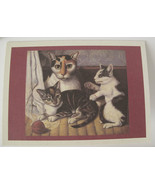 Cats Stationery Boxed 10 Cards with Envelopes - $8.81