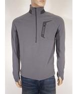 Marmot 97050 Grid 1/2 Zip Men's Fleece Pullover Jacket Gray S - $44.79