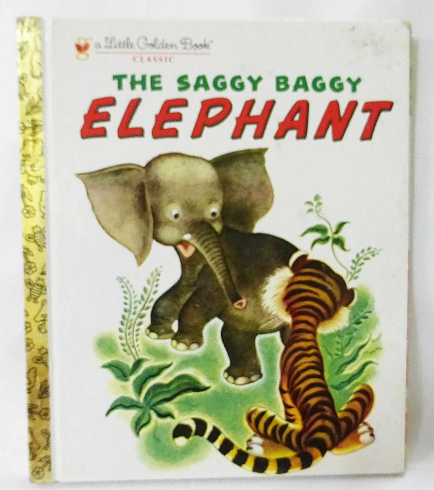 Primary image for A little golden book The saggy baggy elephant 1974