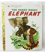 A little golden book The saggy baggy elephant 1974 - $4.95