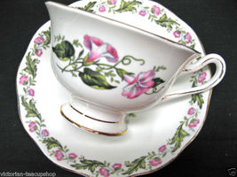 ROYAL ALBERT COTSWOLD VICTORIANTEACUPSHOP TEA CUP AND SAUCER DUO - $22.59