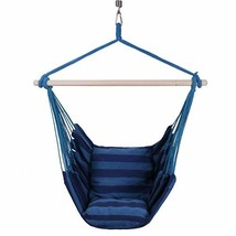 KLM Hanging Rope Hammock Chair Swing | Perfect Hanging Chair for Bedroom... - $64.06