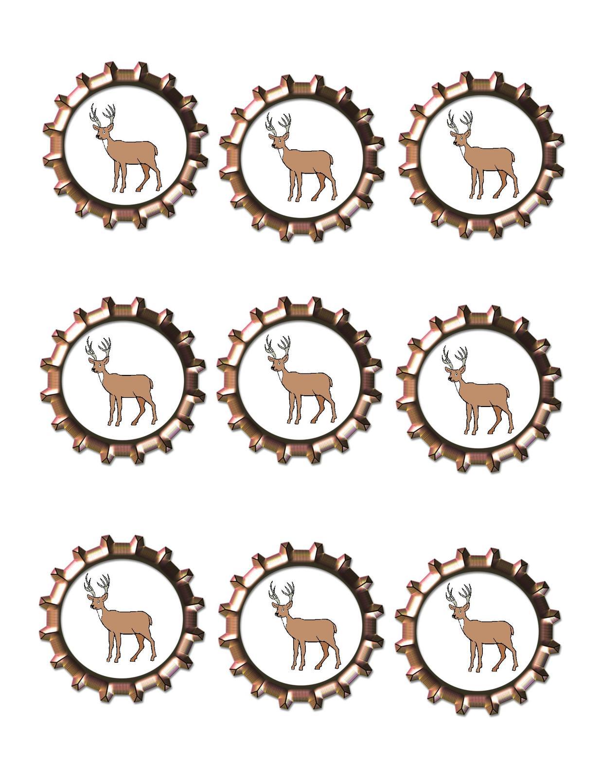 Deer bottlecap