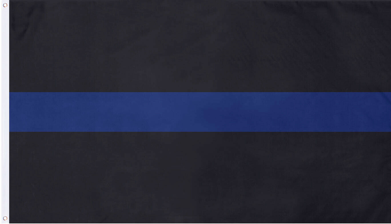 Primary image for Subdued Thin Blue Line TBL Support The Police Flag 3' x 5'