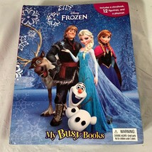 "Disney ""Frozen"" My Busy Books Playset Figurines Playmat Storybook Book Set - $9.89"