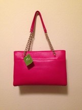 NWT Kate Spade Small Phoebe Leather Tote Emerson Place Smooth Pink Shoul... - $555.00