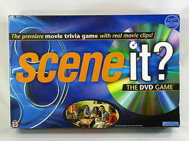 Scene It? Movie Edition 2003 DVD Trivia Board Game Mattel Complete Excel... - $17.82