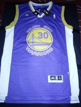 Stephen Curry Golden State Warriors Stitched Jersey #30 Blue New w/ TAGS - $22.95