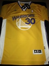 2015 Stephen Curry Golden State Warriors Stitched Jersey #30 Sleeves New... - $22.95