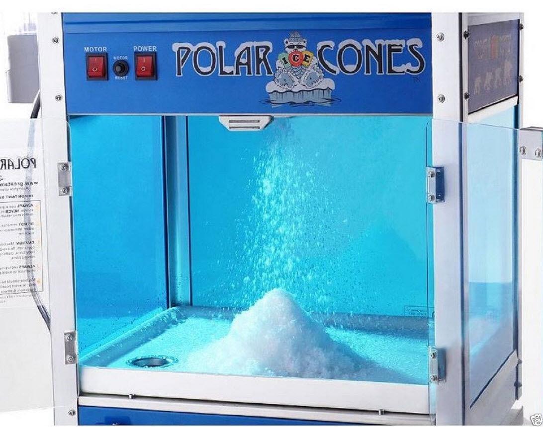 polar cones snow cone machine