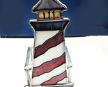 Candle holder stain glass lg lighthouse votive thumb155 crop