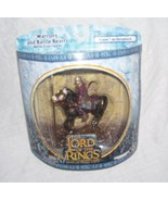 Lord of the Rings EOMER ON HORSEBACK Action Figure NEW! 2003 - $14.96