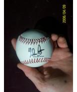 Nolan Ryan 34 signature baseball - $20.00