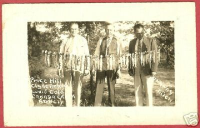 Onaway MI Canada Creek Ranch Hill Arnold Cole RPPC BJs