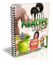 100 Health Tips - EBook - $1.99