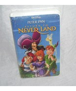 Disney PETER PAN RETURN TO NEVER LAND * VHS * VIDEO NEW! - $9.96