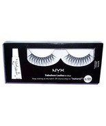 NYX Cosmetics Fabulous Lashes & Glue False Eyelashes Pair #101 New In Box - $3.99