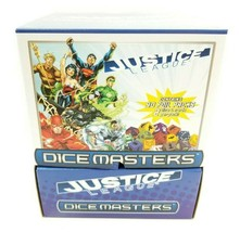 Dice Masters Justice League Gravity Feed Box Booster Pack 90 Packs DC Comics New - $67.23