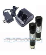 TWO BATTERIES + CHARGER For BLACK & DECKER VersaPak VP110 VP105 VP100 21... - $40.48