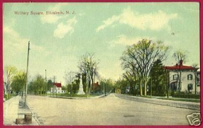Primary image for ELIZABETH NEW JERSEY Military Square St Homes 1916 NJ