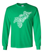 112 Hops Long Sleeve Shirt beer brewing lager lover drunk drink home brew retro - $18.00+