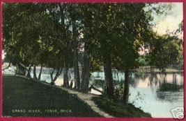 IONIA MICHIGAN Grand River Glitter MI - $10.00