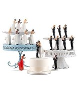 Interchangeable Mix & Match Ethnic True Romance Wedding Cake Toppers Int... - $24.98