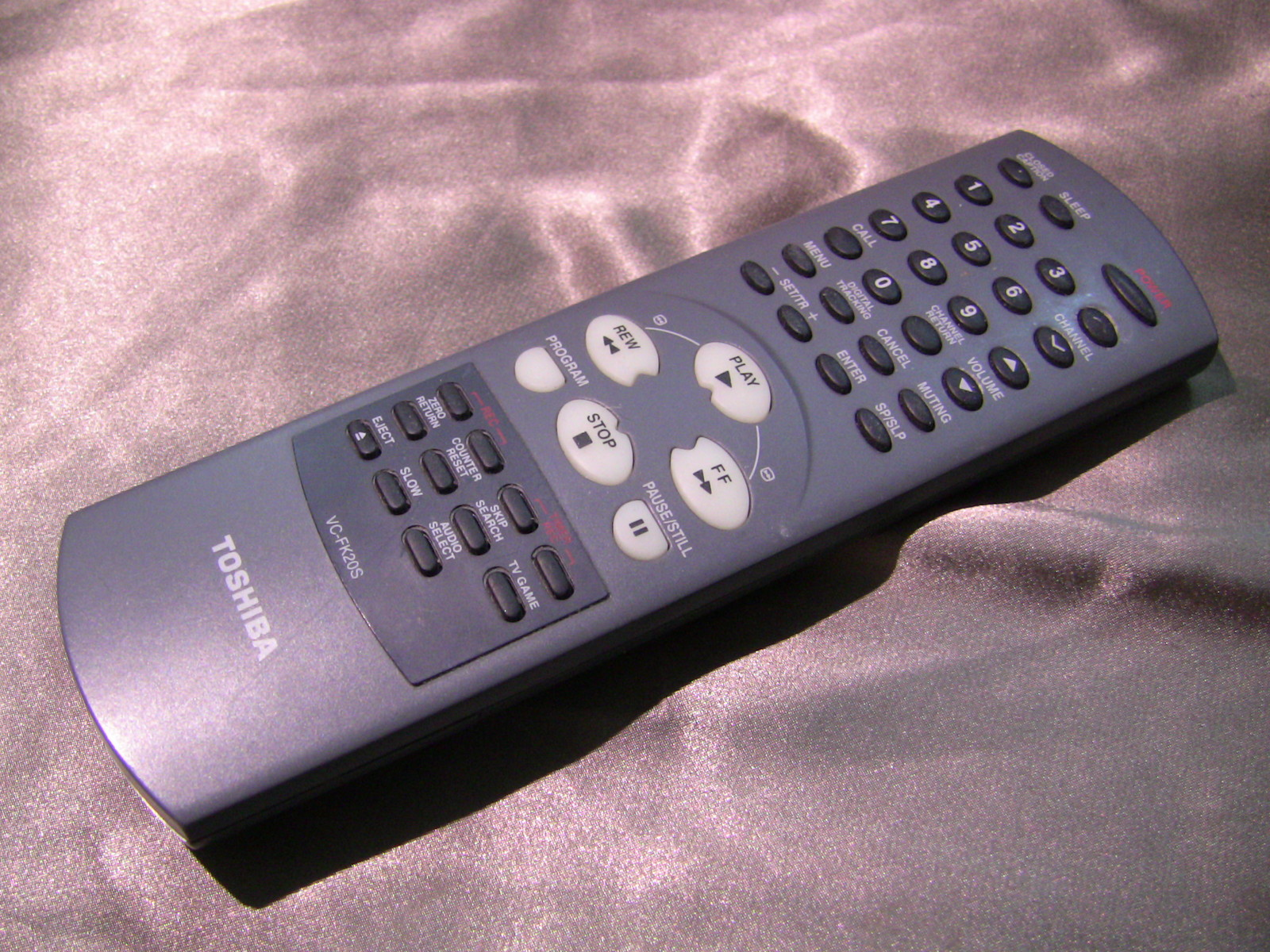 Vc Fk20 S Toshiba Tv Vcr Control Remote and 50 similar items